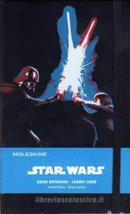 Taccuino Moleskine large a righe. Edizione limitata Star Wars: Lightsaber Duel