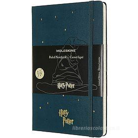 Moleskine - Taccuino a righe Harry Potter petrolio - Large copertina rigida