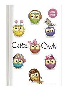 Diario agenda 16 mesi settimanale 2020-2021 Collegetimer A5 Cute Owls