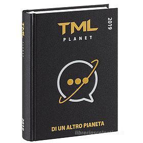 Diario TML Tua madre è leggenda 2019. Agenda 16 mesi nero