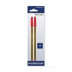 Confezione 2 penne a sfera Noris Stick 434
