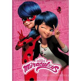 Miraculous Diario 12 mesi non datato Ladybug. Rosa