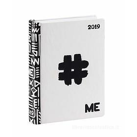 Diario ME My Evolution 2019. Bianco (simbolo cancelletto)