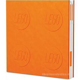 LEGO taccuino Locking Notebook Arancio