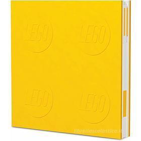 LEGO taccuino Locking Notebook Giallo