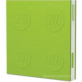 LEGO taccuino Locking Notebook Lime