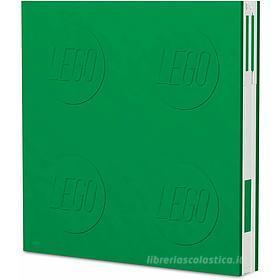 LEGO taccuino Locking Notebook Verde