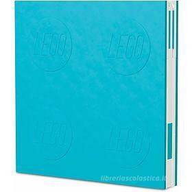 LEGO taccuino Locking Notebook Azzurro