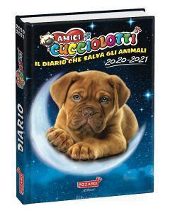 Amici Cucciolotti 2020-2021. Diario standard plus 12 mesi. Blu