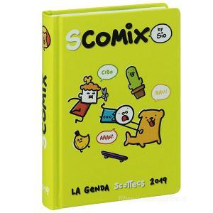 Agenda Comix 2018-2019. Diario 16 mesi medium Scottecs by Sio. Verde