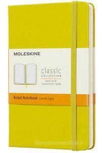 Moleskine taccuino con copertina rigida a righe pocket giallo