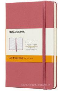 Moleskine taccuino con copertina rigida a righe pocket rosa