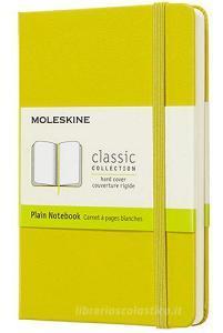 Moleskine taccuino con copertina rigida a pagine bianche pocket giallo