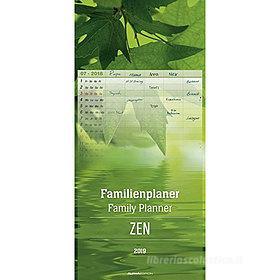 Calendario 2019 Family Planner Zen 21x45 cm