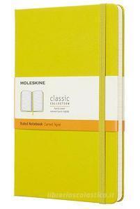 Moleskine taccuino con copertina rigida a righe large giallo