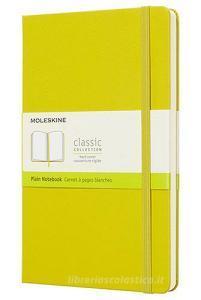 Moleskine taccuino con copertina rigida a pagine bianche large giallo