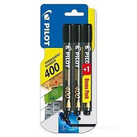 Confezione 3 marcatori indelebili Permanent Marker 400