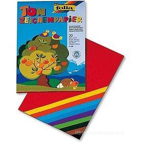 Album Folia 20 fogli A4 in cartoncino (colori assortiti)