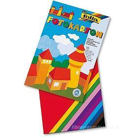 Album Folia 10 fogli A4 in cartoncino (colori assortiti)