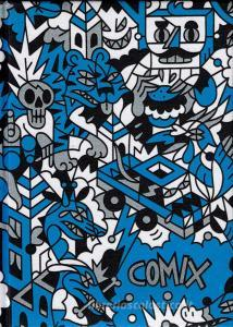 Comix 2019-2020. Agenda 16 mesi standard Special Edition. Azzurro e bianco