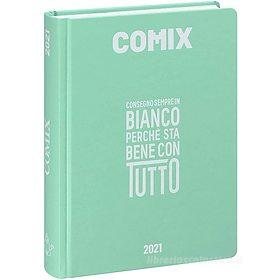 Comix 2020-2021. Diario agenda 16 mesi mini. Acquamarina