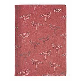 Agenda 12 mesi settimanale 2020 Ladytimer Glamour Flamingo