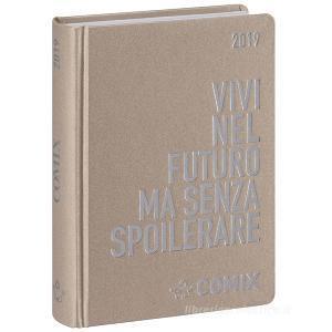Agenda Comix 2018-2019. Diario 16 mesi mignon plus. Oro