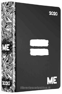 Diario agenda ME My Evolution 2019-2020 16 mesi. Nero (simbolo uguale)