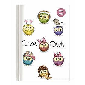 Diario agenda 16 mesi settimanale 2019-2020 Collegetimer A6 Cute Owls