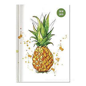 Agenda 2018-2019 settimanale 16 mesi Collegetimer Pocket Pineapple