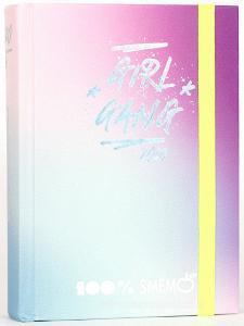 Smemoranda 2020. Diario Smemo 16 mesi medium. Special Edition Sfumature. Rosa elastico giallo