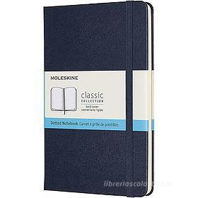 Moleskine - Taccuino Classic pagine a puntini blu - Medium copertina rigida