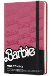 Moleskine taccuino con copertina rigida a righe pocket. Barbie. Limited edition.