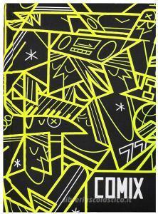 Comix 2019-2020. Agenda 16 mesi mini Special Edition. Nero e giallo