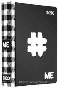 Diario agenda ME My Evolution 2019-2020 16 mesi. Nero (simbolo cancelletto)