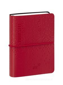 Comix U Yourself Mini Agenda 2020-2021 giornaliera 16 mesi. Special Edition. Rosso