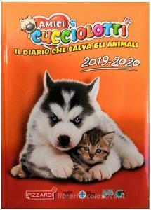Amici Cucciolotti 2019-2020. Diario standard plus 12 mesi. Arancione