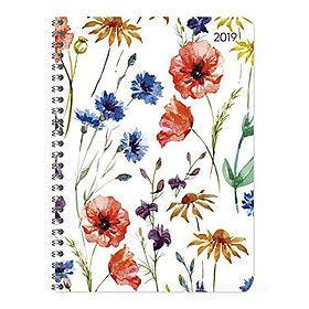 Agenda 2019 spiralata settimanale 12 mesi Ladytimer Flowers