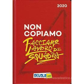 Skuola.net 2019-2020. Agenda 16 mesi. Rosso