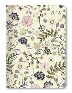 Ladytimer Flowers Agenda Settimanale 2016