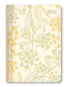 Ladytimer Pastel Flower Agenda Settimanale 2016