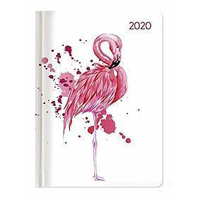 Agenda 12 mesi settimanale 2020 Ladytimer Flamingo
