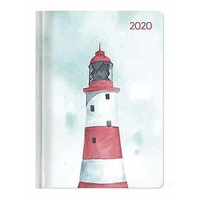 Agenda 12 mesi settimanale 2020 Ladytimer Pastel Lighthouse