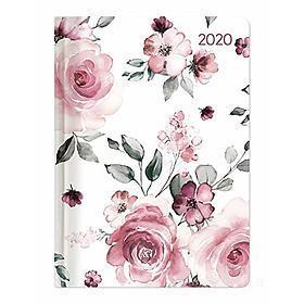 Agenda 12 mesi settimanale 2020 Ladytimer Roses