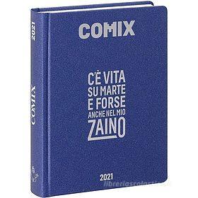 Comix 2020-2021. Diario agenda 16 mesi mini. Blu