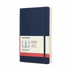 Moleskine 12 mesi - Agenda giornaliera blu - Large copertina morbida 2020