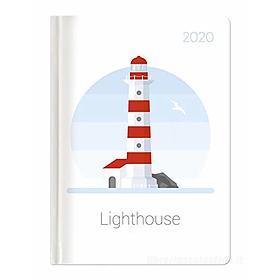 Agenda 12 mesi giornaliera 2020 Style Lighthouse