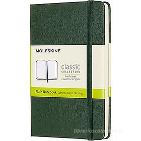 Moleskine - Taccuino Classic pagine a puntini verde - Pocket copertina rigida