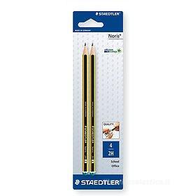 Confezione 2 matite Noris 2H