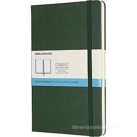 Moleskine - Taccuino Classic pagine a puntini verde - Large copertina rigida